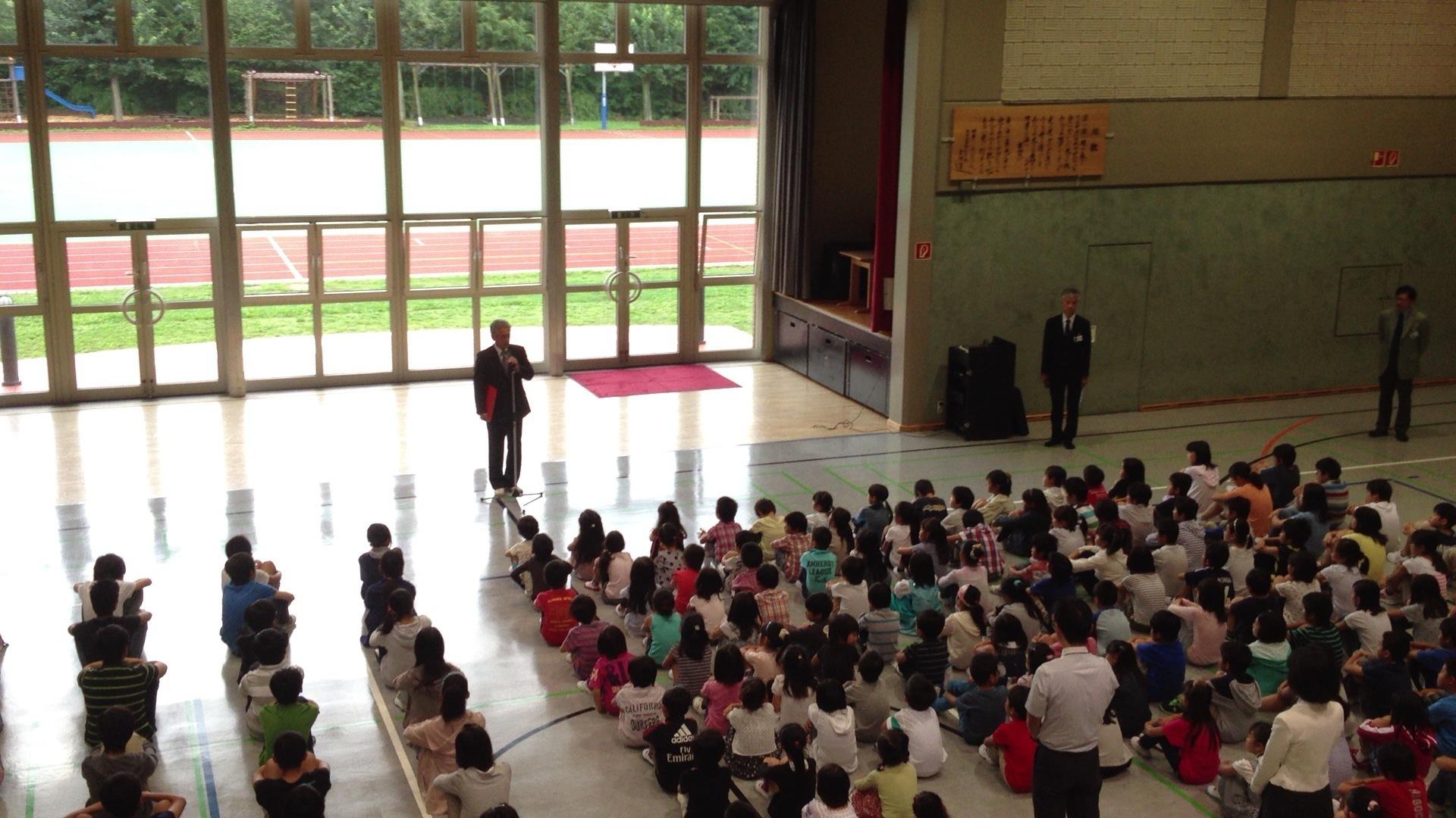 子どもの教育① 日本人学校